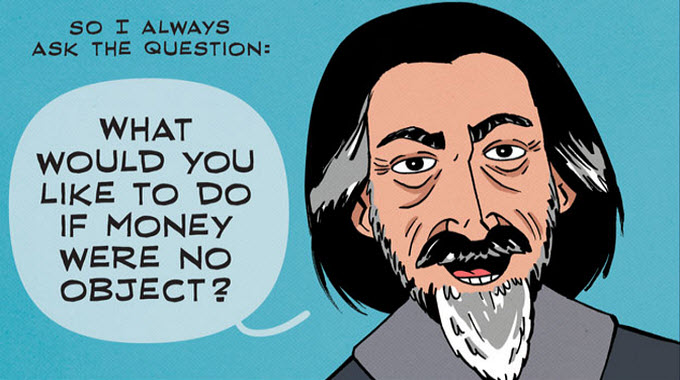 alan watts money question