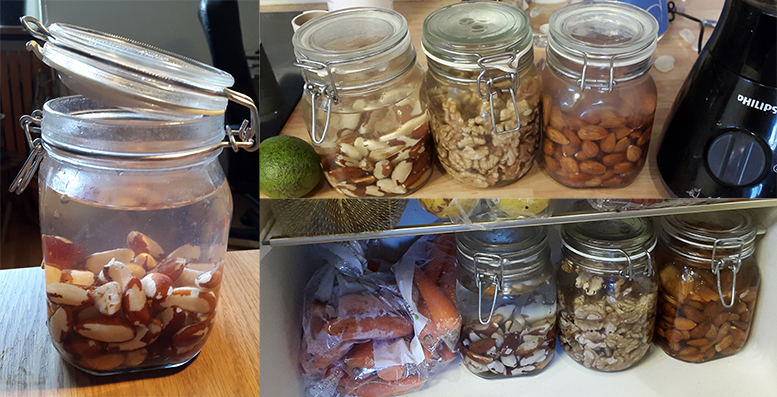 nut in the fridge